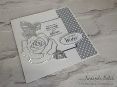 The Craft Spa - Stampin' Up! UK independent demonstrator : Wonderful Wedding Rose Wonder for Wednesday!