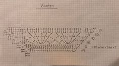 K - Crochet, pattern, acrylic painting - Creator joy! Crochet Diagram, Crochet Chart, Crochet Patterns, Crochet Stitches, Knitting Charts, Knitted Shawls, Projects To Try, Crocheting, Lana