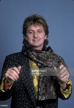Photo of Jon ANDERSON and YES; Jon Anderson - posed, studio