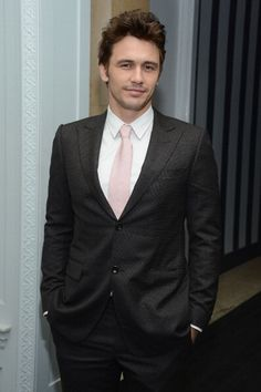 Pink tie to match your pink dress? Hello James Franco! #perfectpromdate #prom2013