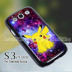 Pikachu Pokemon Galaxy Nebula - Design for Samsung S3 9300