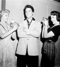 On The Set Of  Jailhouse Rock 1957