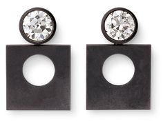 Another exciting offering from Hemmerle. Diamonds with white gold and iron.