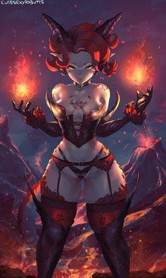 338 dragon girl by cutesexyrobutts Fantasy Girl, Fantasy Anime, Fantasy Warrior, Fantasy Women, Dark Fantasy, Fantasy Adventurer, Art Anime, Anime Manga, Fantasy Characters