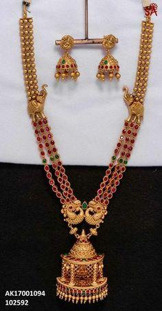 Kerala Jewellery, Temple Jewellery, India Jewelry, Jewelry Shop, Jewelry Making, Gold Fashion, Fashion Wear, Trendy Fashion, Fasion