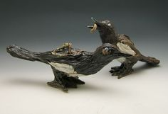 Magpie Cream and Sugar Set by potsdamelf on Etsy, $300.00