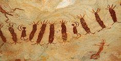 pintura rupestre brasileira - Pesquisa Google
