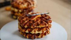 Belgian Liege Waffles Suzette – Bruno Albouze