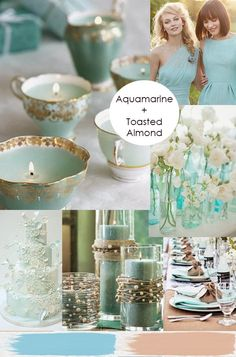 MIRA Events explores color palette possibilities with the Pantone Colors of 2015 for Spring