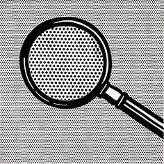 Roy Lichtenstein, Magnifying Glass, 1963