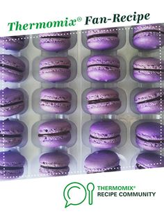 Recipe Macarons by NicoleCarey, learn to make this recipe easily in your kitchen machine and discover other Thermomix recipes in Baking - sweet. Sweet Recipes, Other Recipes, Baking Recipes, Dessert Recipes, Macarons, Choc Ganache, Curried Lentil Soup, Bellini Recipe, Kitchens