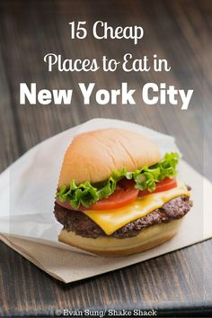 15 Cheap Places to Eat in New York City