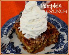 "This ""Pumpkin Crunch"" is the perfect pumpkin…"