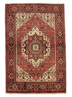 Tapis persans - Goltog  Dimensions:151x102cm