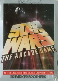 Star Wars: The Arcade Game Box Shot for Atari 2600 Atari Video Games, Star Wars Video Games, Retro Video Games, Xbox Games, Arcade Games, Games Box, Old Games, Games To Play, Pc Engine
