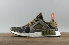 997b265a5ce30 Adidas NMD R1 Mens Olive Green BA7232 Adidas Xr1