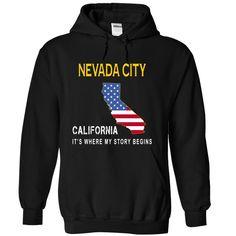 NEVADA CITY - Its Where My Story Begins T Shirt, Hoodie, Sweatshirt