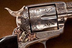 Colt Single Action Army, Single Action Revolvers, Gun Storage, Cowboys And Indians, Custom Guns, Wood Steel, Firearms, Shotguns, Cool Guns