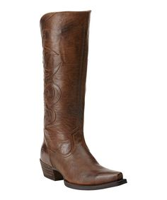 Look at this Sandstorm Lyric Leather Western Boot - Women on #zulily today!