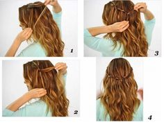 SUPER EASY HAIRSTYLES YOU CAN DO IN LITERALLY 10 SECONDS - Likes
