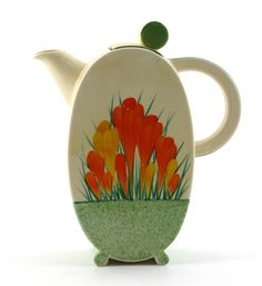 Sungleam Crocus pattern Clarice Cliff