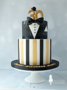 The Great Gatsby inspired 30th birthday cake