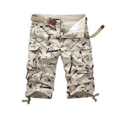 40038663e8d Mens Military Cargo Shorts Brand New Army Shorts Cotton Loose Work Casual  Short Pants  Affiliate