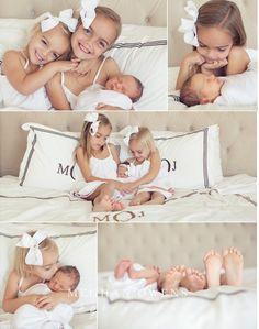 Orange County newborn photographer | My three girls