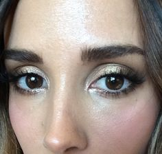 Potential wedding eye makeup. (Bec Judd)