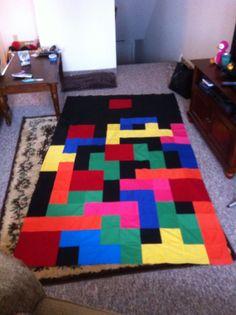 Tetris quilt Part 1