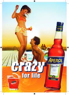 Aperol Spritz: 3 parts Prosecco 2 parts Aperol 1 part sparkling water 1 slice of orange