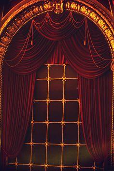 Photo Print - Dramatic Theater Window, Velvet Drapes, Theatre, Arched Window, Wang Theater, Boston, Arched Window Coverings, Arched Windows, Types Of Curtains, Drapes Curtains, Types Of Window Treatments, Velvet Drapes, Colorful Bedding, Curtain Patterns, Custom Drapes