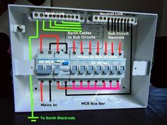 mcb wiring diagram 2000 s10 blazer of distribution board with dp and sp mcbs the detailed internal for sample db rcd units eee community