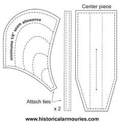 How to make armour: Making a Coif - Medieval Padded Arming Cap