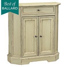 Great gray corner cabinet. Bedroom, perhaps?Miranda Corner Cabinet ...