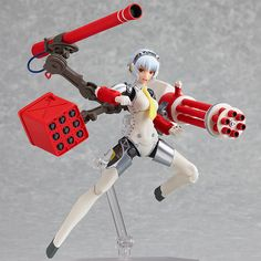 "Max Factory | Persona 4: The Ultimate in Mayonaka Arena, figma ""Aigis: The ULTIMATE ver. Famitsu Original Color"""