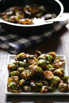 NYT Cooking: Roasted Brussels Sprouts With Garlic