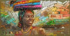 African bricks for Sasi's on Behance