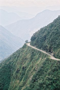 Most dangerous road in the world - Bolivia