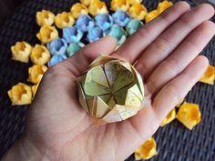 Como Fazer Flor de Lótus em Origami