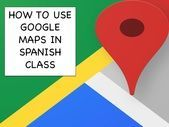 Use Google Maps to take a walking tour / scavenger hunt of any city in the world - great for Spanish class!