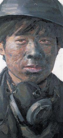 2005 COAL WORKER FROM SICHUAN-2, Xu Weixin (徐唯辛; b1958, Urumqi, Xinijiang…