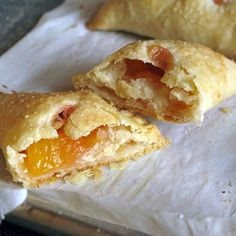 Individual Peach Ginger Hand Pies You Can Pack For Lunch