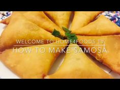 Chicken Recipe: How To Make Samosa | Home4Foods