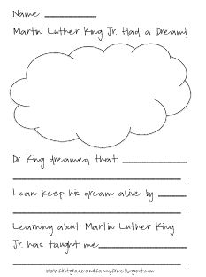 Writing about Martin Luther King Jr.  Great since Martin Luther King Jr. Day is coming up!