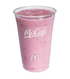 #McDonalds Smoothies not only taste good but they are actually good for you!! #YUM
