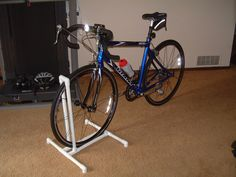 http://www.instructables.com/id/Bike-Rack/