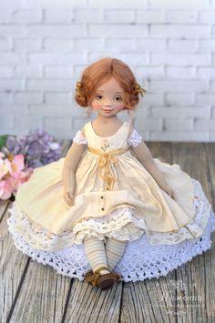 авторская кукла, неженки