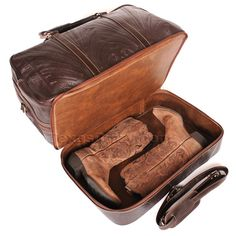 Stylish Western Boot Bags for Travel