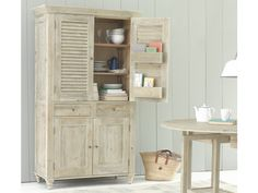 The Super Sucre is our French style, seriously cool larder cupboard. Perfect for storage in the kitchen as well as other rooms in the house. Kitchen Larder Units, Kitchen Storage Units, Larder Cupboard, Kitchen Shelves, Tall Cabinet Storage, Armoire Pantry, Cupboards, Loaf Furniture, Kitchen Furniture